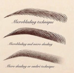 The difference between microblading and microshading, also known as ombre brows. You can get either at Sweet Skin Sugar & Brows by Lise Landriault in Squamish, BC.