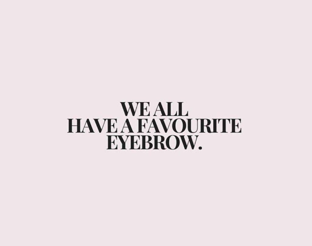 favourite-eyebrow
