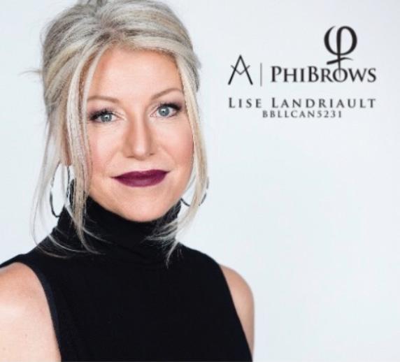 Lise Landriault PhiBrows Expert