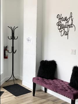 Waiting Area of Sweet Skin Beauty Studio